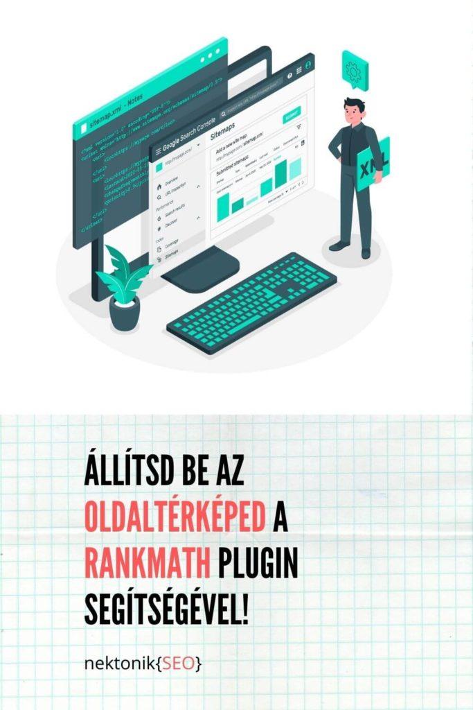 oldaltérkép beállítása rankmath plugin segítségével