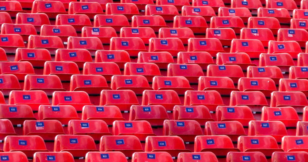 duplikáció pont ugyanolyan ülések egy stadionban