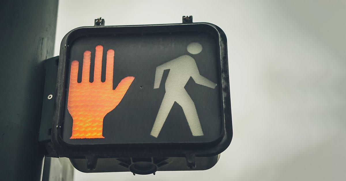 stop jelzőlámpa